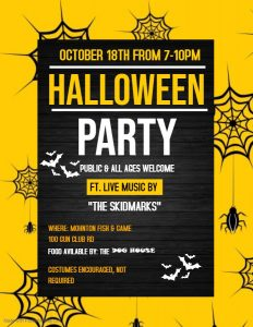 Halloween Dance 2019 @ Mohnton Fish and Game | Mohnton | Pennsylvania | United States